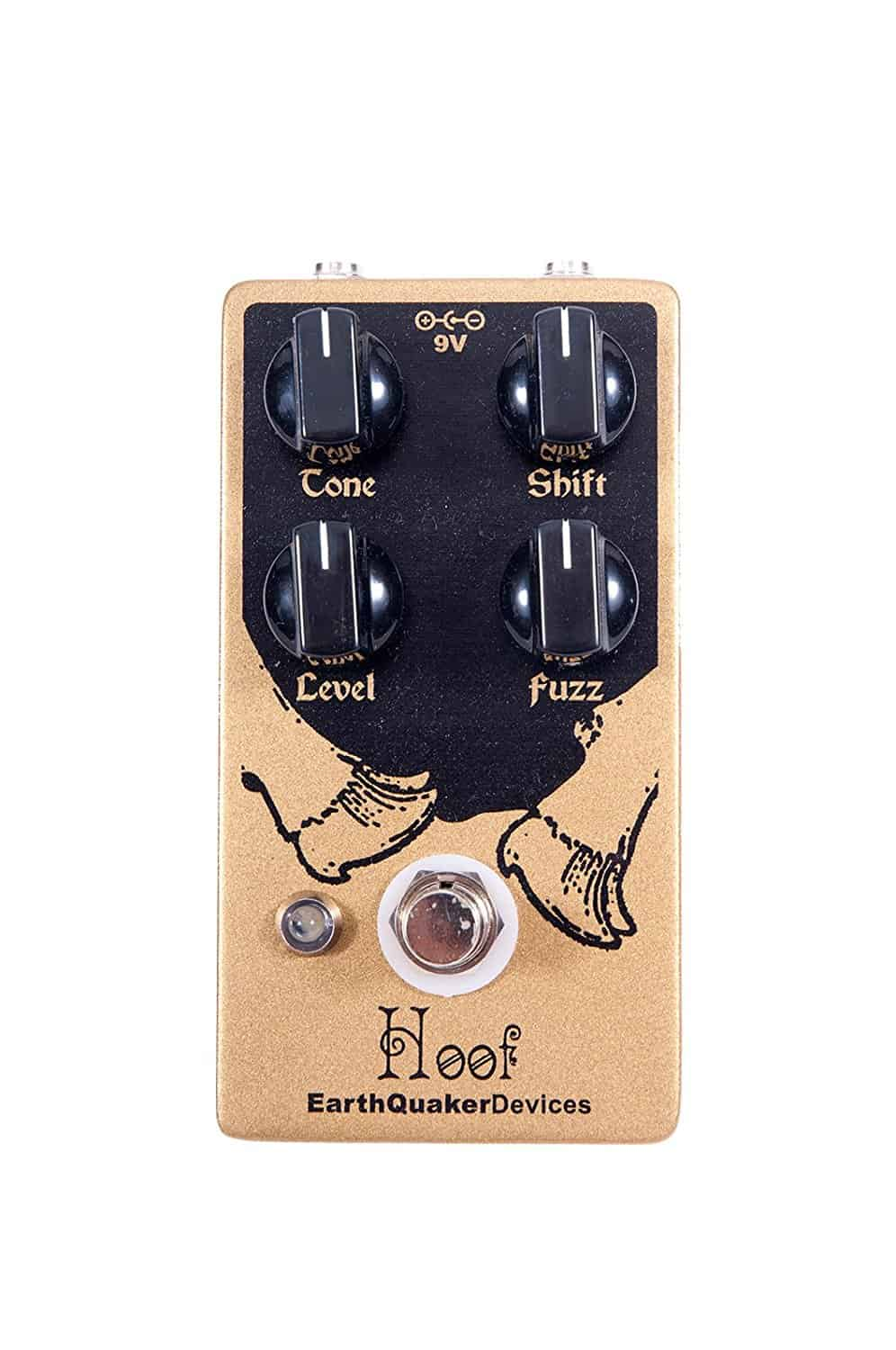 EarthQuaker Devices Hoof Germanium/Silicon Hybrid Fuzz Effects Pedal