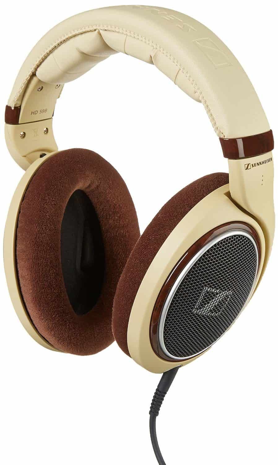 Sennheiser HD 598 Over-Ear Headphones – Ivory