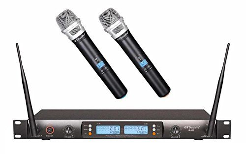 GTD Audio G-622H 200 Channel UHF Professional Wireless microphone