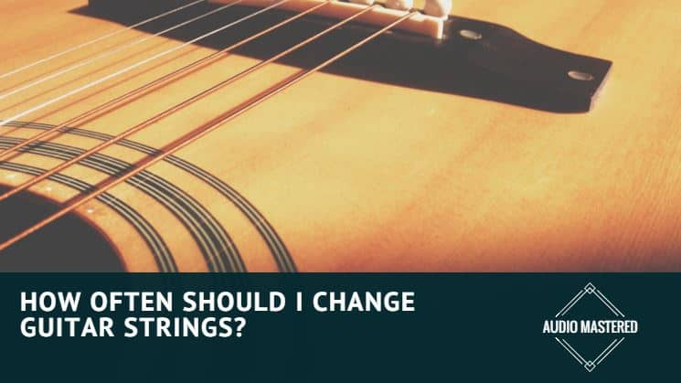 when to change guitar strings