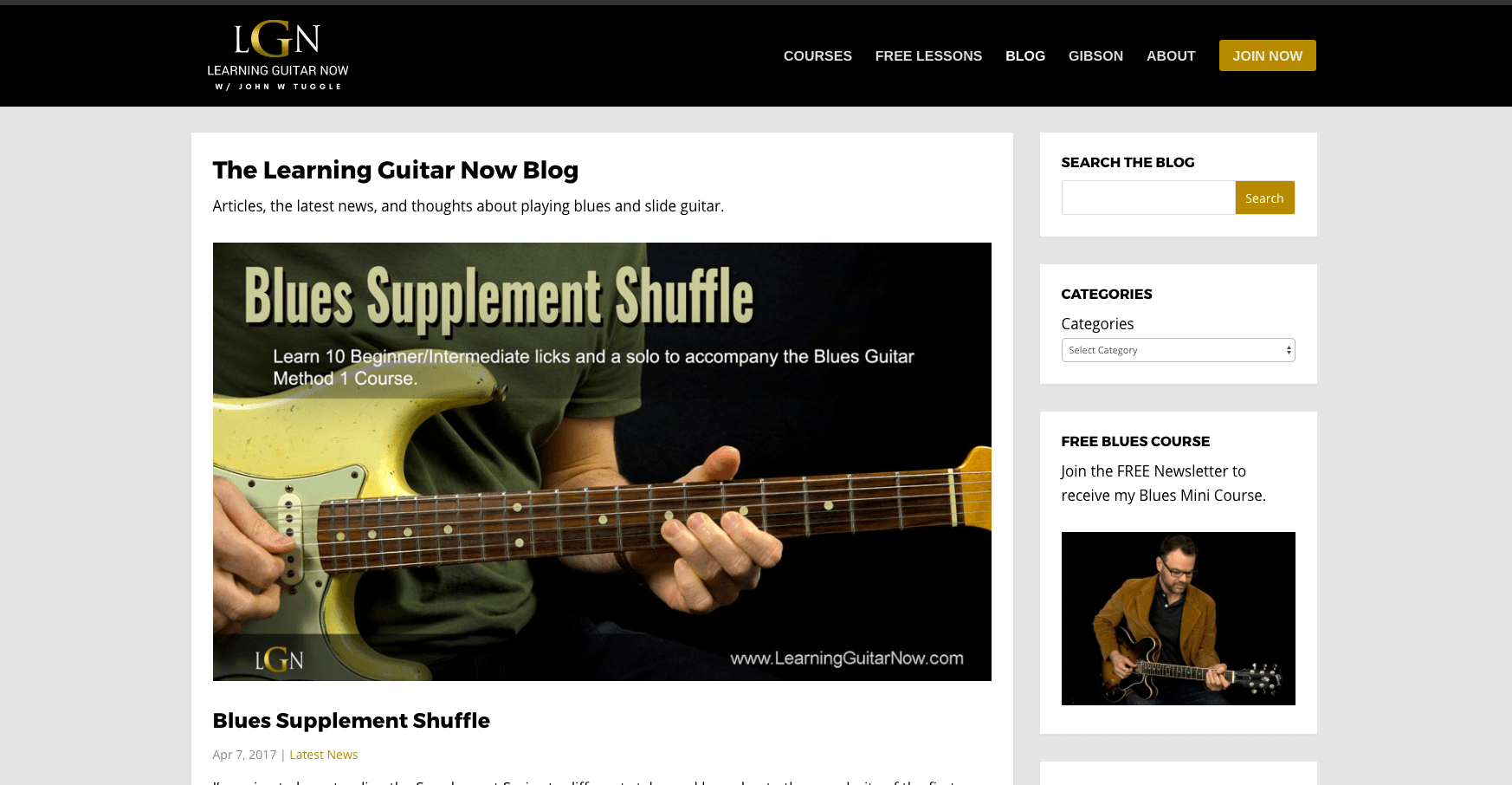 Ranking The Worlds Top Guitar Websites Audio Mastered