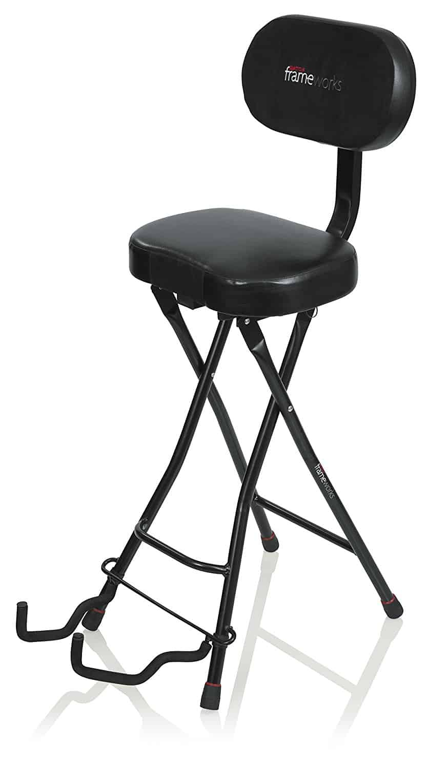 Gator Framework Guitar Chair  sc 1 st  Audio Mastered & The Best Guitar Chair \u2013 The Stool You Need To Improve Your Playing ... islam-shia.org