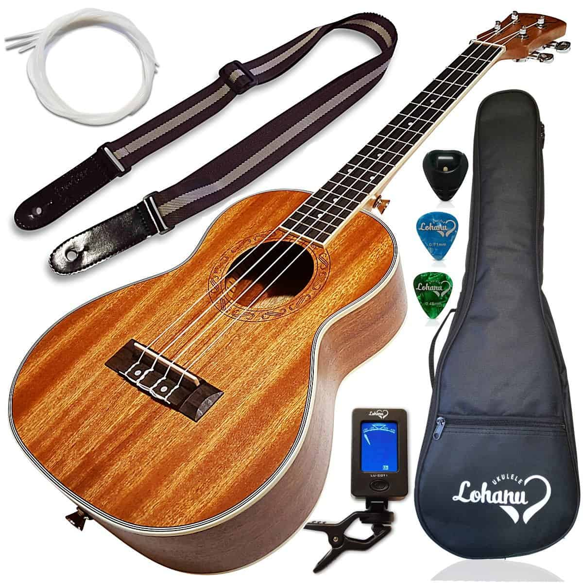 Tenor Size Bundle from Lohanu LU- T