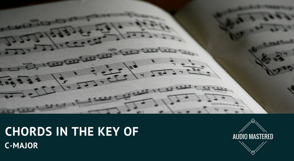 Chords In The Key Of C Major For Guitar And Piano Audio Mastered