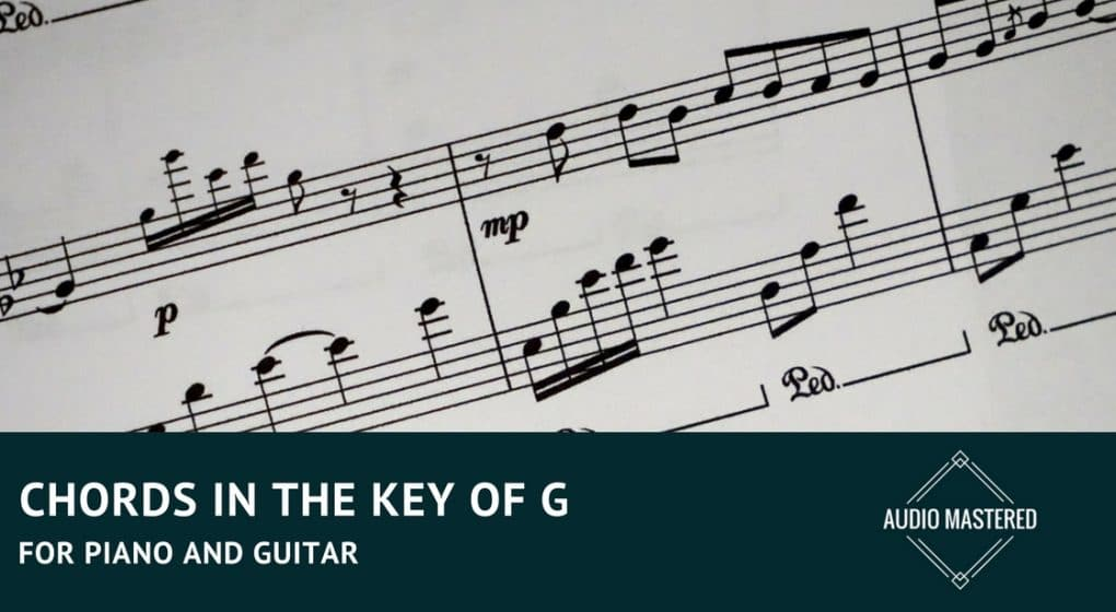 Chords In The Key Of G - For Piano And Guitar - Audio Mastered